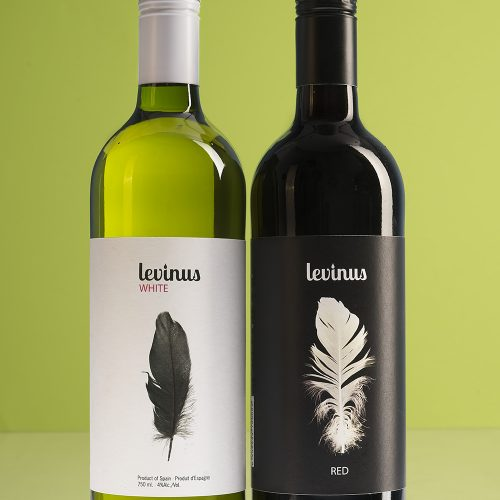 Levinus light | Label wine design