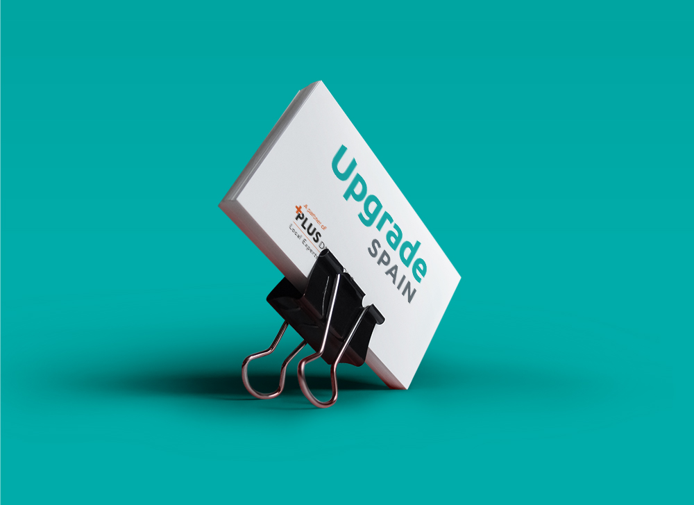 Upgrade Spain | Identity design