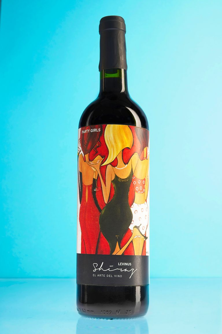 Levinus Natalie Dyer | Label wine design