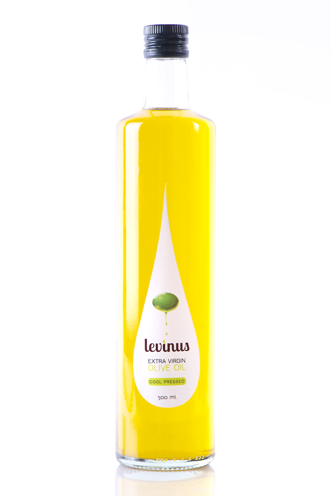 Levinus Oil | Label design